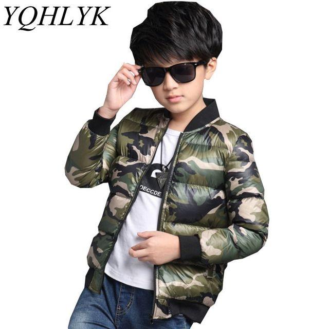 48be99896 New Fashion Winter Cotton Boys Coat 2018 Korean Children Thick Warm ...