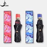 Hot Sale New Fully Automatic Anti UV umbrella For Women Gift Fashion quality Windproof Sun Rain Ladies Umbrella creative parasol