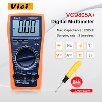 VICI VC9805A+ Digital Multimeter Temperature tester DMM LCR Meter Inductance Capacitance Frequency & hFE Testing