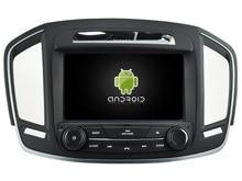 Android 7.1 COCHES reproductor de DVD PARA OPEL INSIGNIA 2014 de audio del coche gps unidad principal estéreo Multimedia de navegación WIFI SWC BT