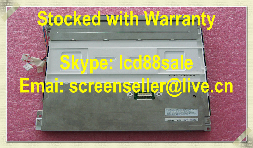 Лучшая цена и качество оригинальный lq104v1dg72 промышленных ЖК дисплей Дисплей