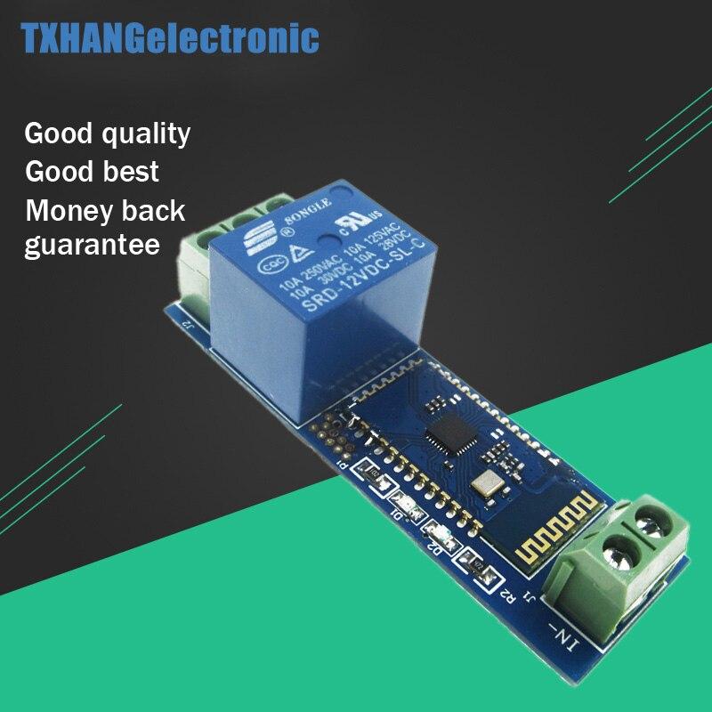 <font><b>Bluetooth</b></font> Relay Module Remote Control Switch 12V <font><b>IOT</b></font> Wireless Module Mobile Phone <font><b>Bluetooth</b></font> Remote Control Switch Internet