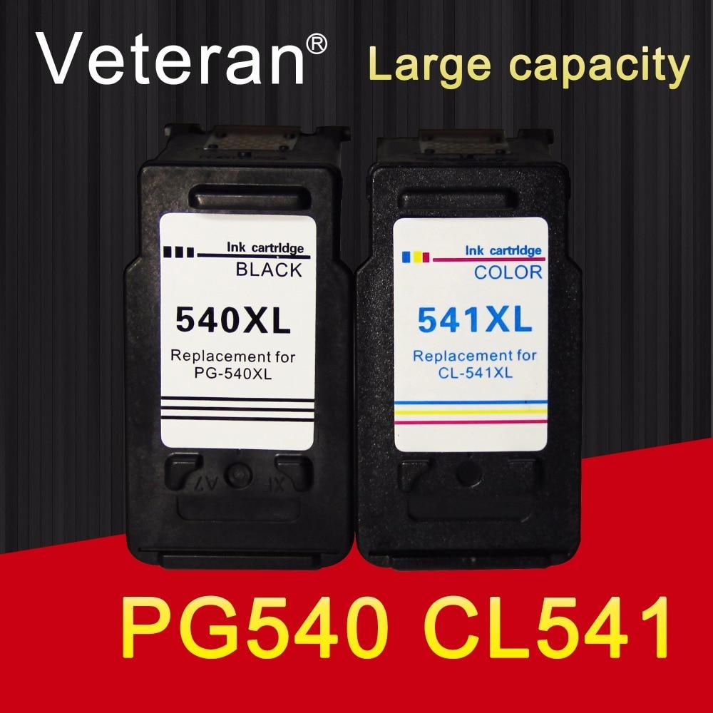 Картридж Veteran 540XL 541XL, совместимый с Canon PG 540, CL 541, Pixma MG3150, MG3550, MG4250, MG3250, MG3255, MG4150
