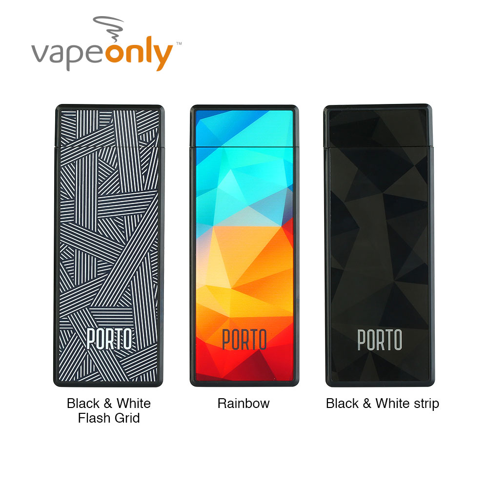 Original VapeOnly Porto PCC Starter Kit with 800mAh Portable Charging Case & Dual Slim Pen-style E-Cig Vape Kit Vs Malle PCC Kit стоимость