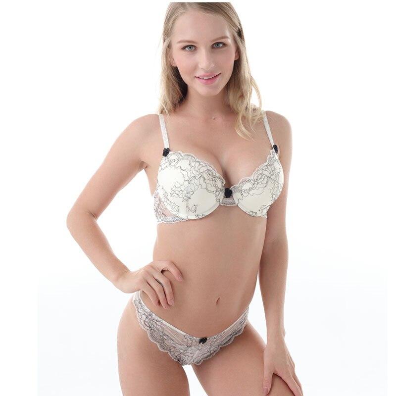 cea18ff52e MiaoErSiDai Sexy Girl s Bra Set Underwire Push Up Fashion Hot Selling Lace  Underwear Lace Panties Lady