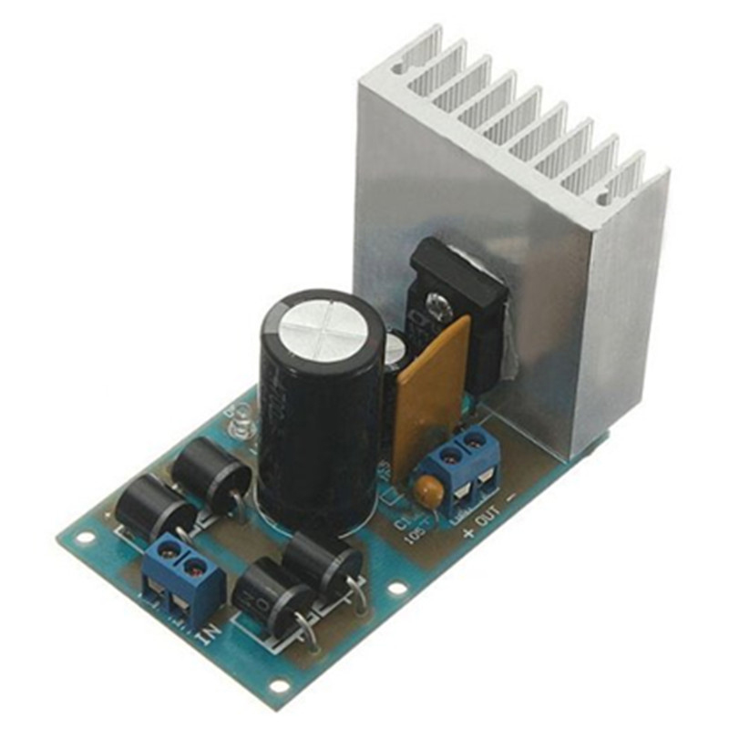 Icstation Diy Kit Lt1083 Adjustable Regulated Power Supply Module