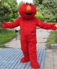 Sesame Street Red Elmo Halloween Cartoon Character Costume Cosplay Mascot Custom Free Shipping