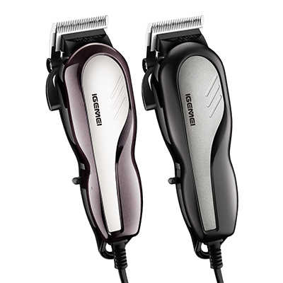 Corded electric hair clipper taper lever barber machine cutting hair trimmer men professional haircut salon carbon steel blade