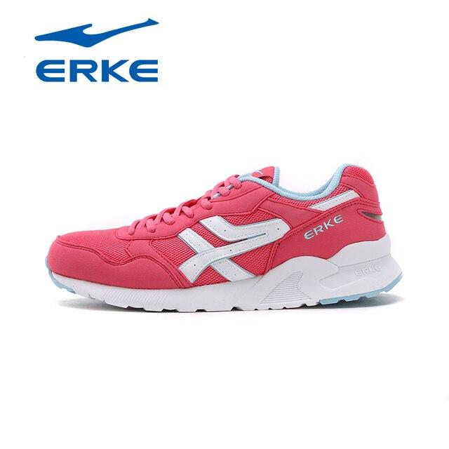 Ерке Новое поступление Фирменная спортивная ходьба Бег sneaks обувь для женщин качества изготовления дышащий и красочные обувь