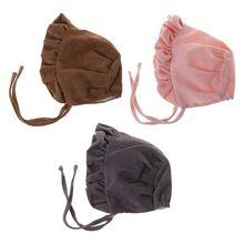Baby Hat Blend Cotton Lotus Leaf Hemline Fashion Cute Photography Costume Newborn Kids Infant Supplies Gifts Soft Decoration