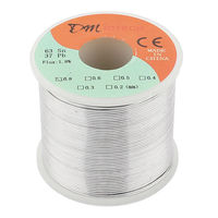 Welding Iron Wire Reel 400g FLUX 1 8 0 8mm 63 37 Tin Lead Line Rosin