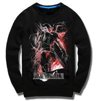 New Fall Winter Final Fantasy VII hoodie FF7 Zack Fair hooded long sleeved Men Casual brushed warm Cotton Coat