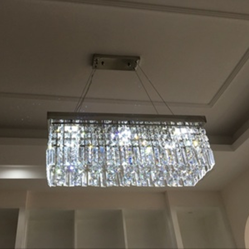 Square Rectangular LED Living Room Restaurant Bar Counter Crystal Lights Ceiling Lights Corridor Lighting Hall Lighting ledSquare Rectangular LED Living Room Restaurant Bar Counter Crystal Lights Ceiling Lights Corridor Lighting Hall Lighting led