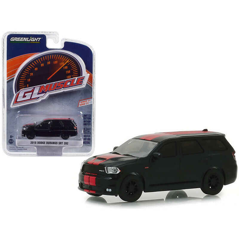 GL 1:64  2018 Dodge Durango SRT alloy model Car Diecast Metal Toys Birthday Gift For Kids Boy