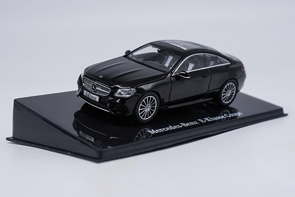 1/43 Mercedes-Benz E-Class Coupe Black Diecast Car Model Collection