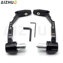 CNC Aluminum Motorcycle Handguard Brake Clutch Lever Guard Slider For Honda PCX 125 150 CBR 900 919 929 954 CG125 CB 750 1000R motorcycle front brake clutch cable rope wire line for honda wh125 10 cg125 wh 125 cg 125 125cc spare parts