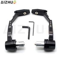 CNC Aluminum Motorcycle Handguard Brake Clutch Lever Guard Slider For Honda PCX 125 150 CBR 900 919 929 954 CG125 CB 750 1000R