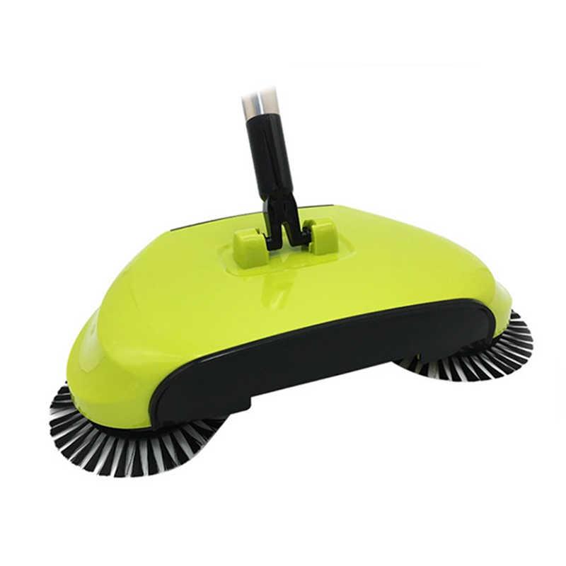 جديد ممسحة مكنسة كنس آلة دفع نوع اليد دفع ماجيك مكنسة مجرفة مقبض حزمة التنظيف المنزلية اليد كاسحة دفع ممسحة