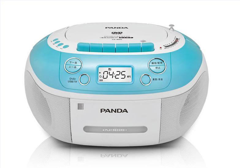 Panda CD-860 CD DVD записи английский повторителя лента U диска аудио плеер пренатальная обучения снаружи