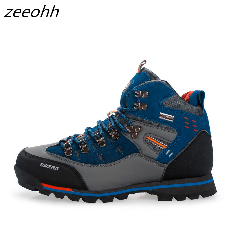 Hiking Boots Trekking-Sneakers Shoes Outdoor Mountain-Climbing Hunting Waterproof New