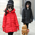Winter Girls Hooded Coat Kid Warm Coat Christmas Snow Jacket Girl Long Sleeve School Cute WindProof Coat Children's Outerwear