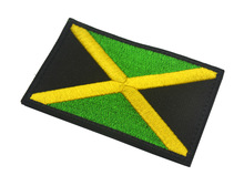 Jamaica Flag Embroidered Applique Patch