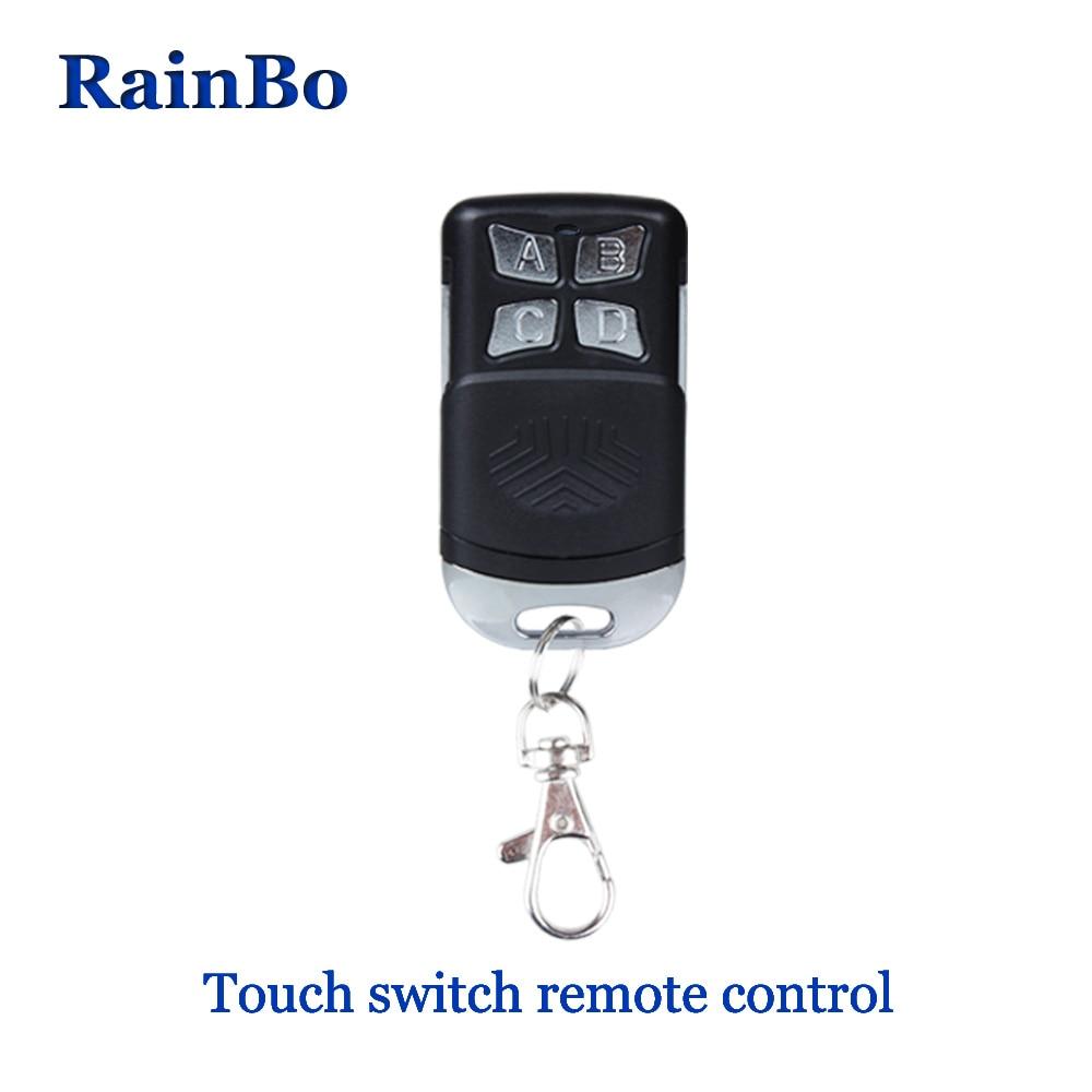 все цены на rainbo Remote Controller Light Switch Home automation RF wall switch Mini Remote Controller Switch Wall Light R01