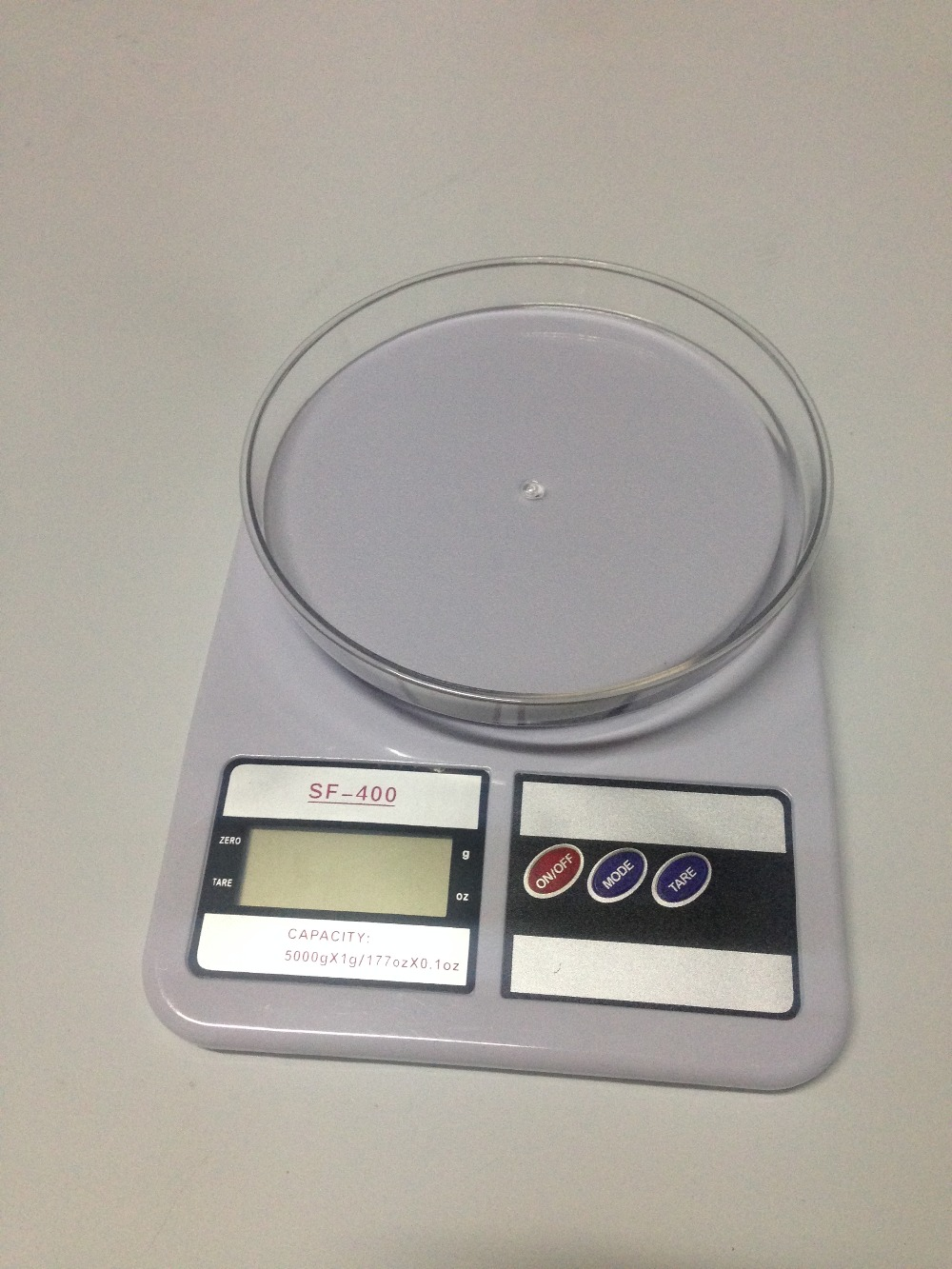 Sf 400 Digital Kitchen Scale Ceramic Tile 10kg Timbangan 1g To 5kg Abs Plastic Lcd Large Capacity Diet Food