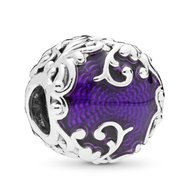 Valentine's day Zebra Cartoon Monkey Earth Bead Heart Clip Fit Women Pandora Charms Silver 925 original Bracelet DIY Jewelry 1