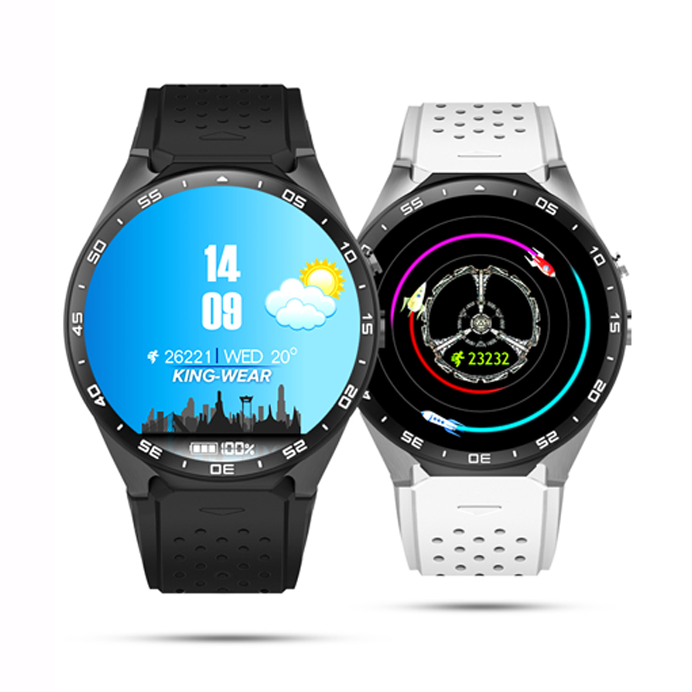 Android 5 1 Watch Phone Quad Core 3G font b Smartwatches b font KW88 With RAM