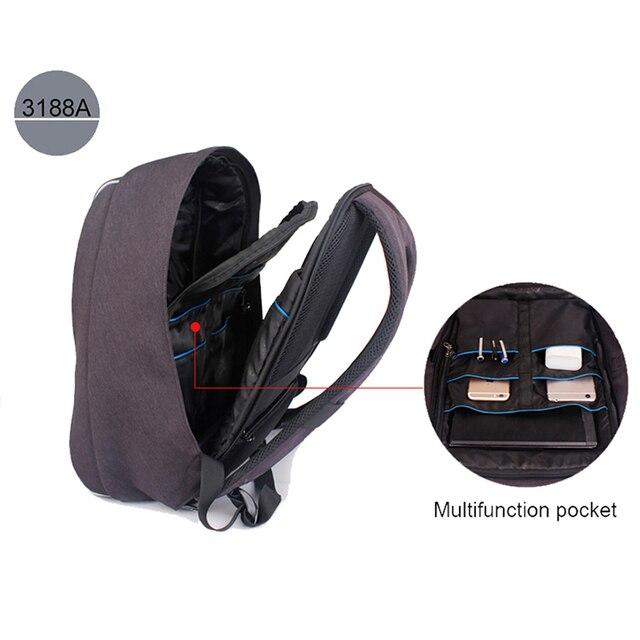 Tigernu Brand Anti Theft Design Men Backpack Notebook Backpack Women 14 15.6 Inch Backpack Leisure Travel Mochila Feminina 2