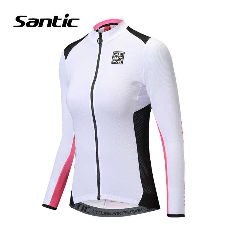 Santic Women Cycling Jersey Long Sleeve Anti UV Road Mountain Bike Jersey  2018 Breathable Pro Bicycle Shirt Jersey Ciclismo-in Cycling Jerseys from  Sports ... c272c2ff7