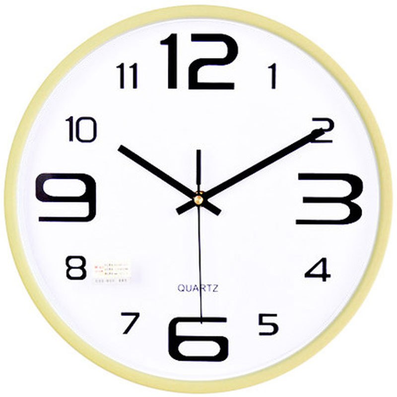 Mute wall clock quartz clock pocket watch brief LargeMute wall clock quartz clock pocket watch brief Large