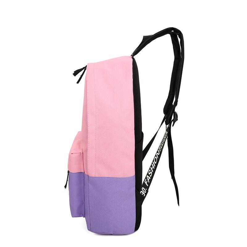 mochila leve bolsa de fluorescência Tipo1 : Fashion School Bag