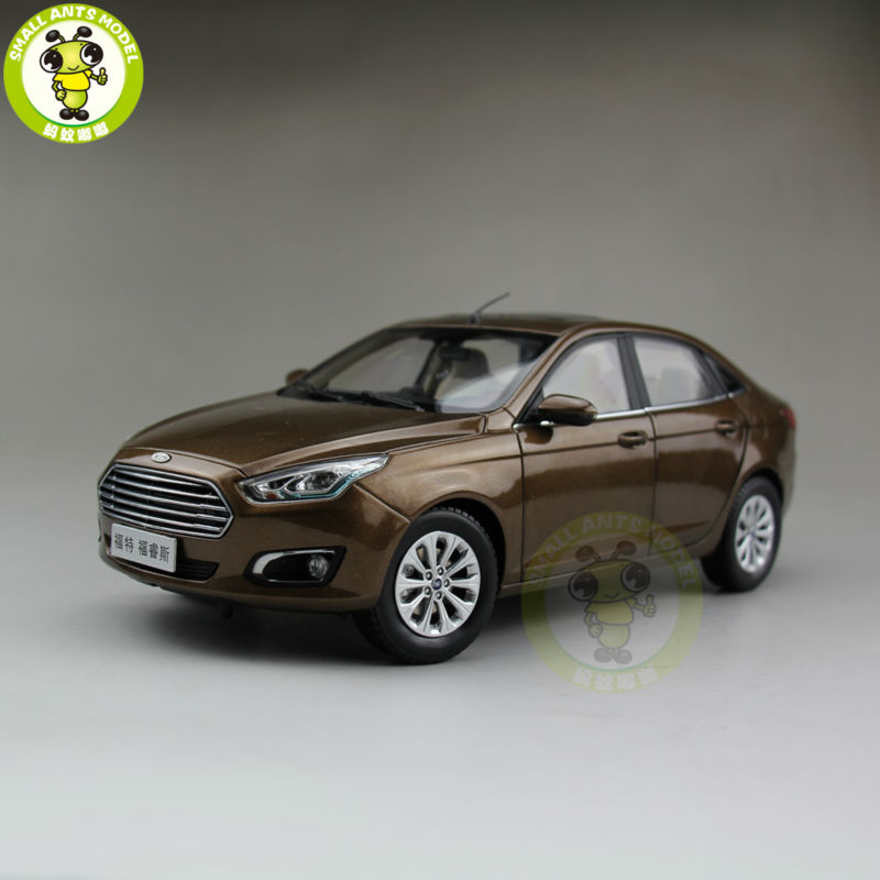 1/18 Ford Escort Diecast car model for collection gifts hobby Brown 1 18 gmc buick lacrosse diecast car model toys for gifts collection hobby black