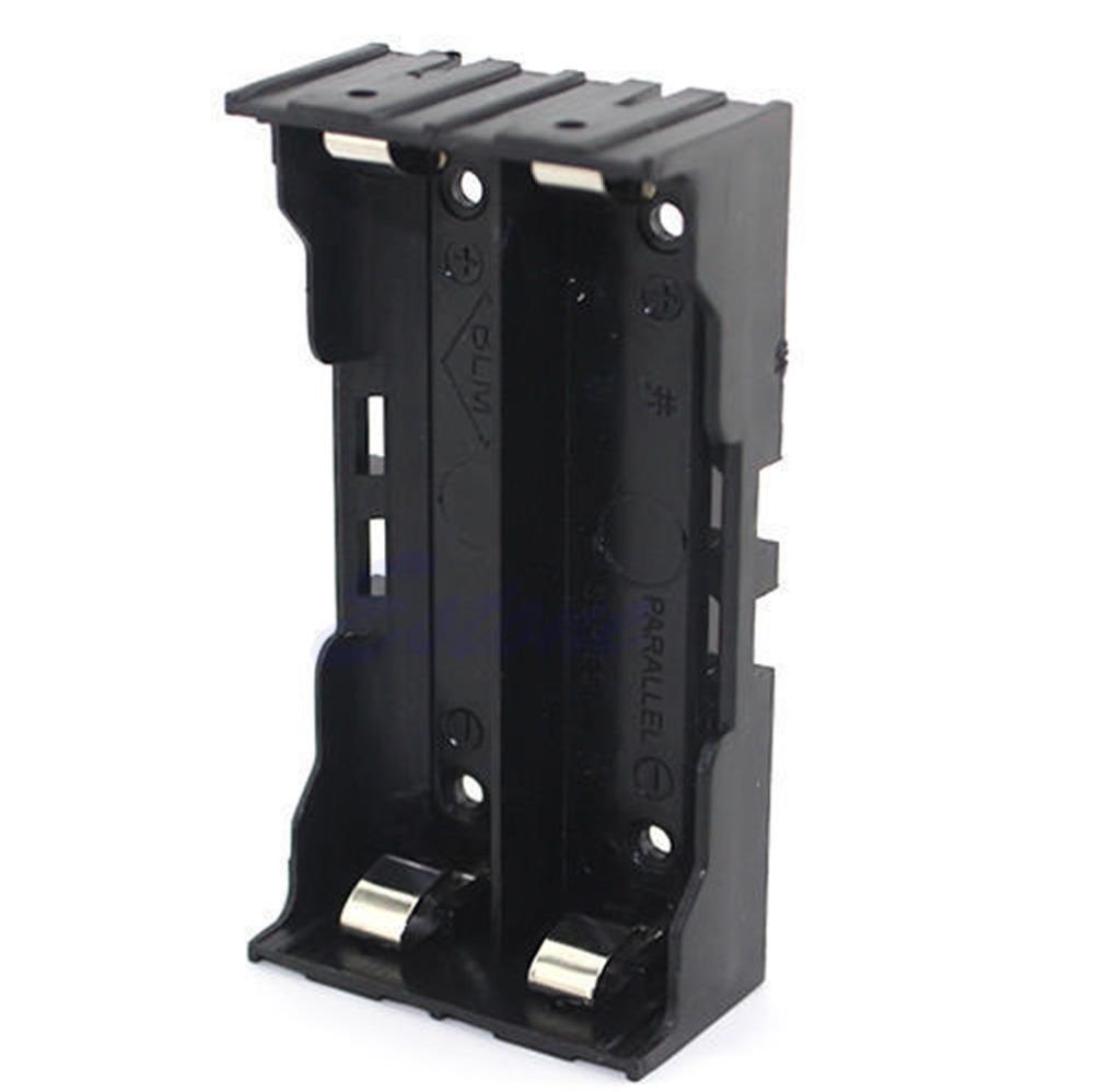 Plastic Parallel Battery Box Holder 18650 Rechargeable Battery 3 7V 1 2 3 4pc 18650 Battery Slot DIY Can Be Welded in Battery Storage Boxes from Consumer Electronics