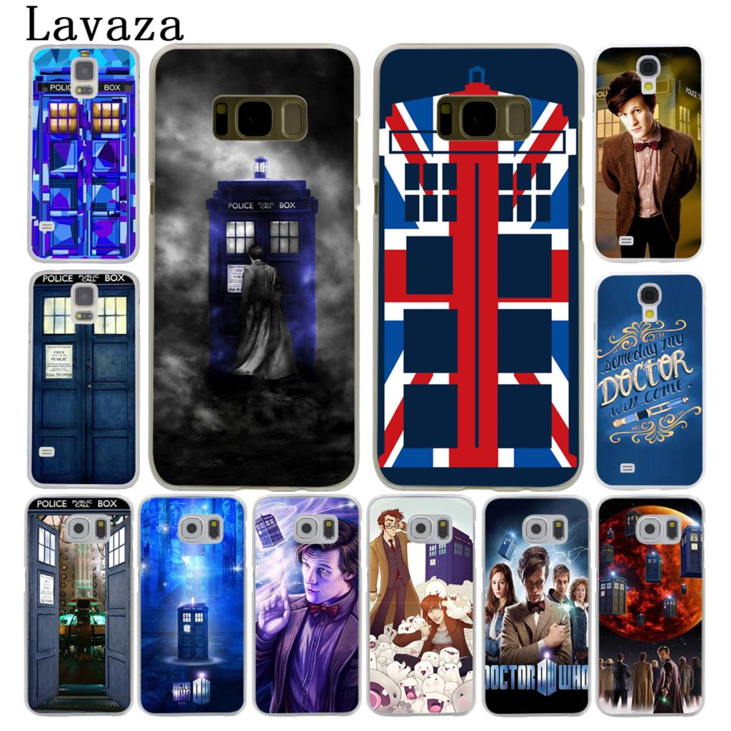 Lavaza Tardis Box Doctor Who Hard Style Phone Shell Case For Samsung Galaxy S7 S6 Edge S8 S9 S10 Plus S10e Cover Firm In Structure Cellphones & Telecommunications Phone Bags & Cases