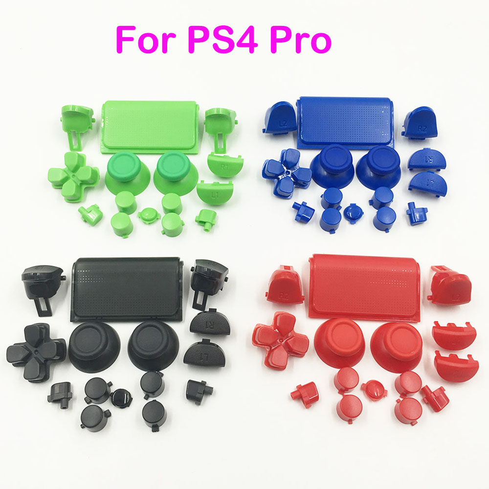 10SETS Replacement Full Buttons Custom Mod Kit Set For Sony PS4 Playstation Pro CUH-ZCT2 Controller