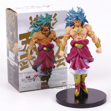 Dragon Ball Z Budokai Tenkaichi Scultures GRANDE Modelagem 7 Broly PVC Figure Collectible Modelo Toy 20 cm(China)