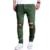 Mendigos Buraco da marca Masculina Nova Moda 2017 Fino Moda Casual calças Dos Homens Calça Casual Homem Calças de Grife Mens Corredores 2XL GFHH