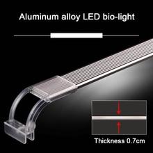 Aquarium LED Light 6300-7500K Clip-on Fish Tank Water Plant Grow Lighting Lamp E2S