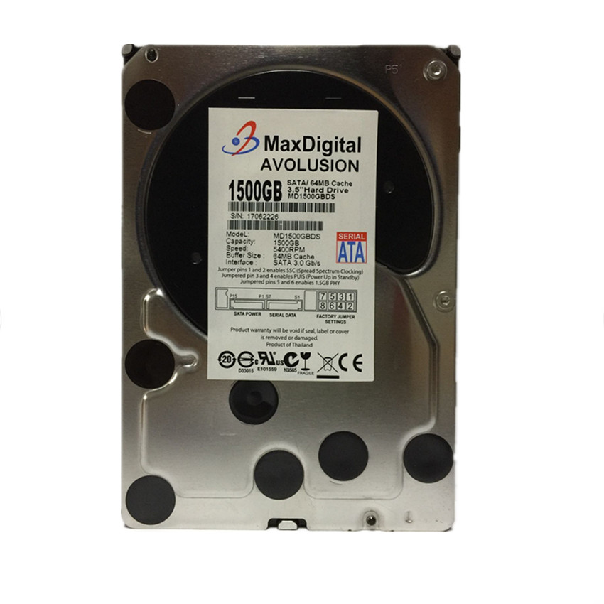1500GB SATA 3.5 Enterprise Grade Security CCTV Hard Drive Warranty for 1-year hard drive x274a 146g 10k fc x274 3 5 scsi one year warranty