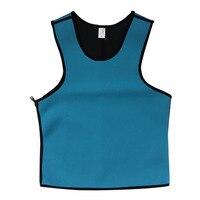Men Sweat Gym Waist Trainer Cincher Sports Running Fajas Neoprene Vest Corsets Fashion Men S Sport