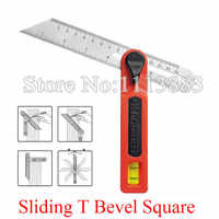 Craftsman Sliding T Bevel Square Gauge Protractor Angle Transfer Tool With Bubble For Accurate Angles