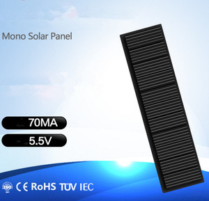 Image 4 - מיני מונו פנל סולארי 5V 70MA עבור DIY צעצוע/שמש דשא אור חיישן אורות/שמש פנס 5.5V