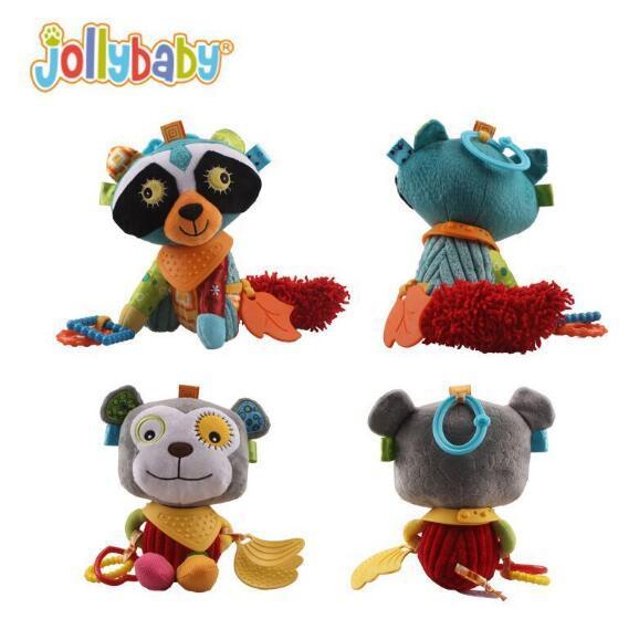 Bebê Brinquedo de Pelúcia Boneca Para Apaziguar 0-36 Meses de Bebê Newbron Animal Fantoche de Mão Boneca de Presente Frete Grátis