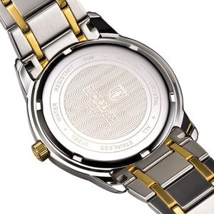 Image 4 - Holuns Top Luxe Horloge Mannen Volledig Roestvrijstalen Klok Mannelijke Sport Business Japanse Quartz Horloges Militaire Horloge Relogio