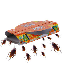 販売者所有者維持推奨 10 個キャプチャデバイス殺害ゴキブリハウス餌粘着板トラップ非毒性家庭用