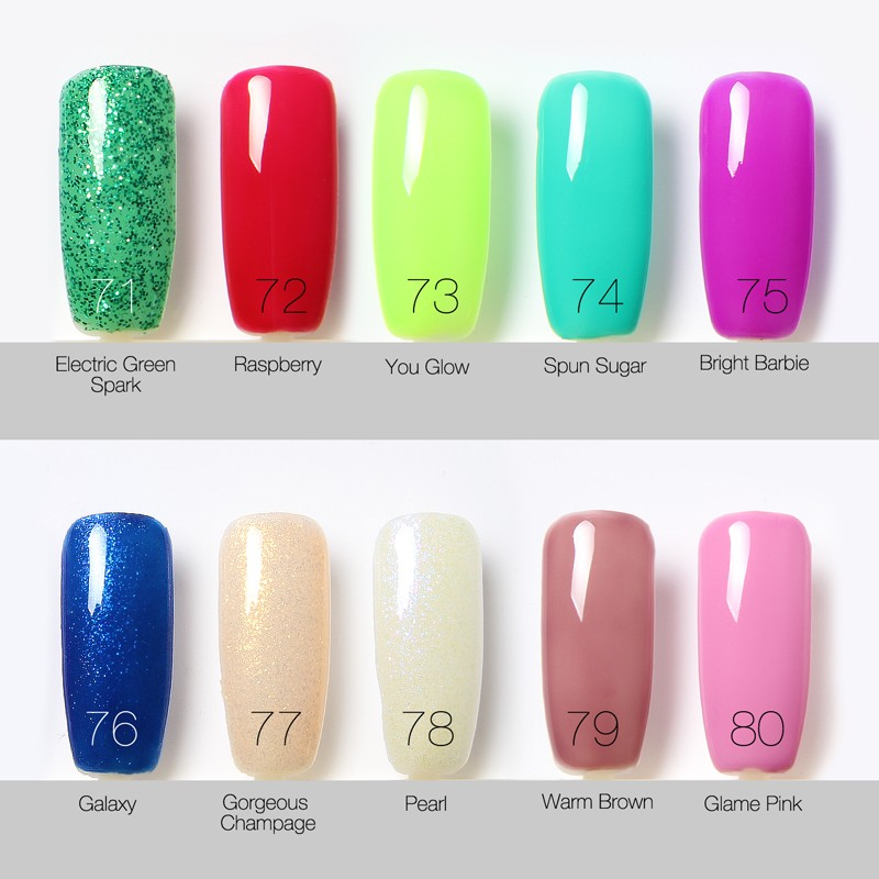 Choose Best One Bling Gel Nail Polish Gorgeous Colors Uv Gel Nail ...