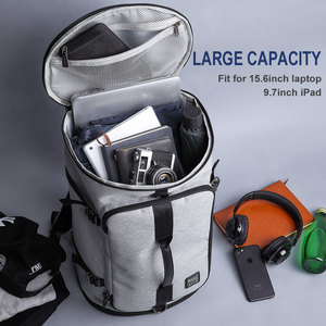 Image 2 - KAKA 40L Men Backpack 15.6 Laptop bag Shoes Backpack Travel Sports Fitness Bags For Women Teenagers School Bagpack Rucksack